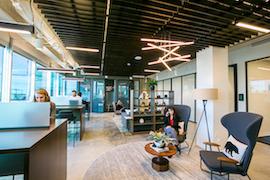 Denver Virtual Office Address - Lounge Commons Area