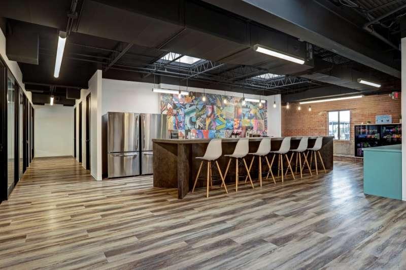 Break Area in Houston Virtual Office Space