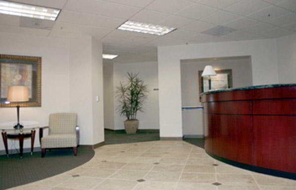 Receptionist Welcoming Area - Cerritos Virtual Office