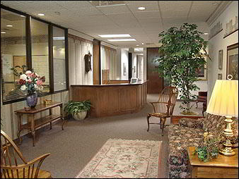 Receptionist Welcoming Area - Fresno Virtual Office