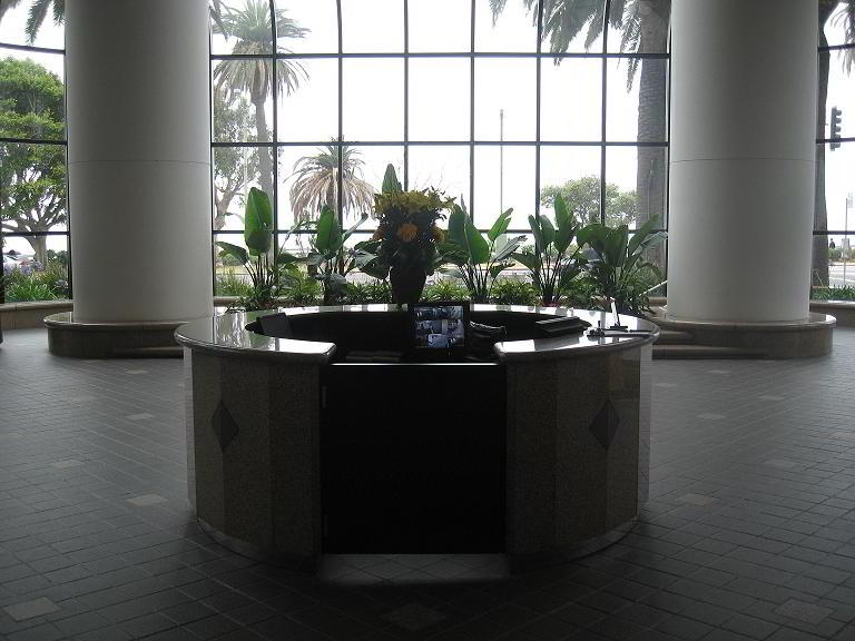 Receptionist Welcoming Area - Santa Monica Virtual Office