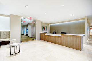 Allen Live Receptionist and Business Address Lobby