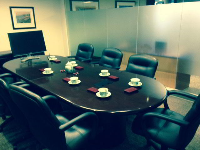 Stylish Greenwich Meeting Room