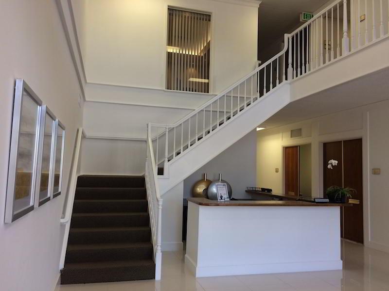 Receptionist Lobby - Virtual Offices in Newport Beach