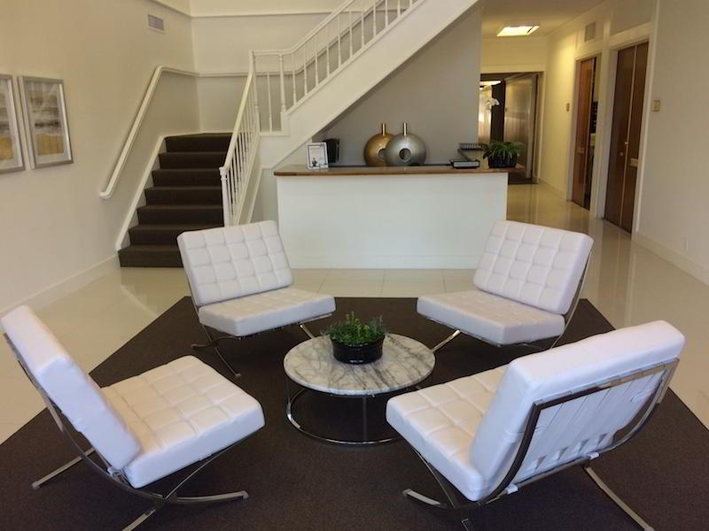 Newport Beach Busines Address - Lounge Area