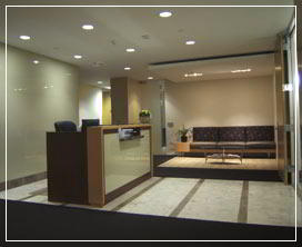 Receptionist Welcoming Area - Burbank Virtual Office
