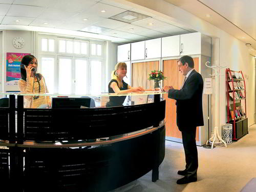 Entrance Lobby - Paris Virtual Office Space