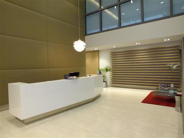 Receptionist Welcoming Area - Brussels Virtual Office