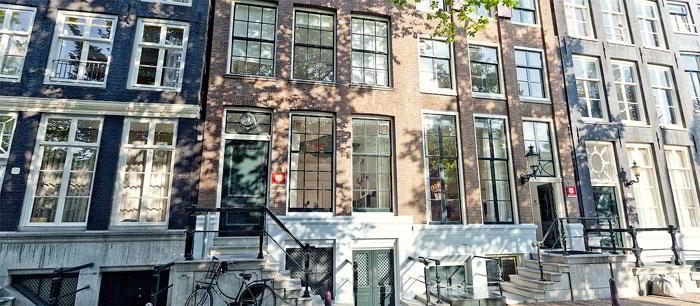 Exterior Facade - Amsterdam Virtual Office Space