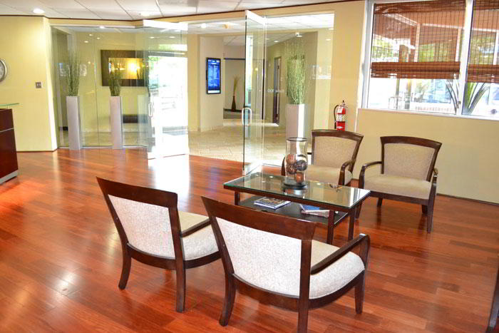 Grapevine Live Receptionist and Business Address Lobby