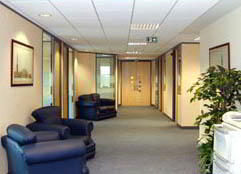 Solihull  Virtual Office Space - Comfortable Commons Area