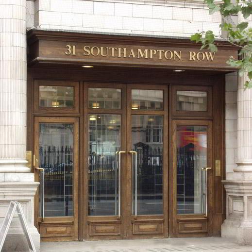 Exterior Facade - London Holborn Virtual Office Space