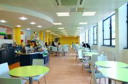 Brentford  Virtual Office Space - Comfortable Commons Area
