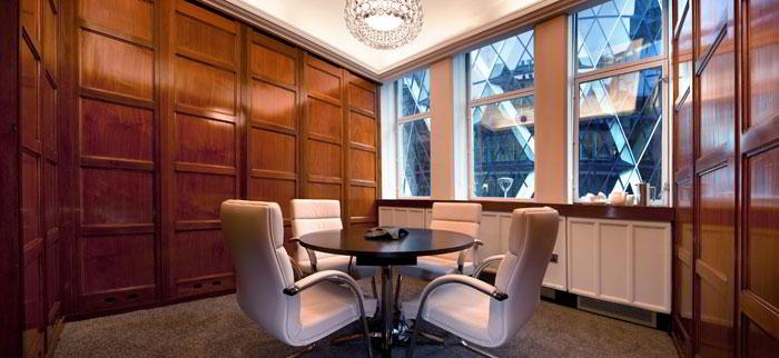 Break Area in London City Virtual Office