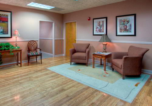 Receptionist Welcoming Area - Atlanta Virtual Office