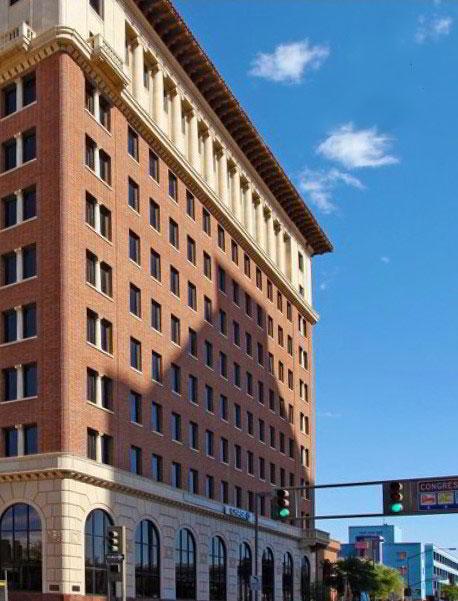 Tucson Business Address - Building Location