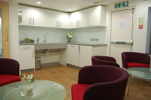 Break Room - Kitchen Area - London City Executive Suite