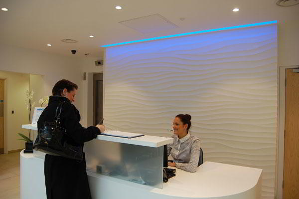 Stylish Entrance Lobby - Virtual Office in London City