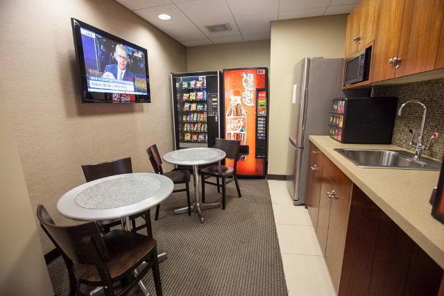 Break Room - Kitchen Area - New York Virtual Office
