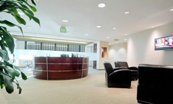 Stylish Entrance Lobby - Virtual Office in Long Beach