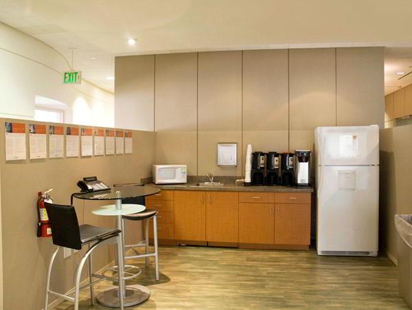 Break Room - Kitchen Area - Beverly Hills Executive Suite