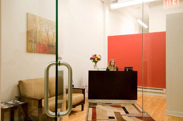 Stylish Entrance Lobby - Virtual Office in Chicago