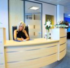 Receptionist Welcoming Area - Cardiff Waterside Virtual Office