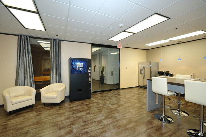Break Area in Houston Virtual Office Space