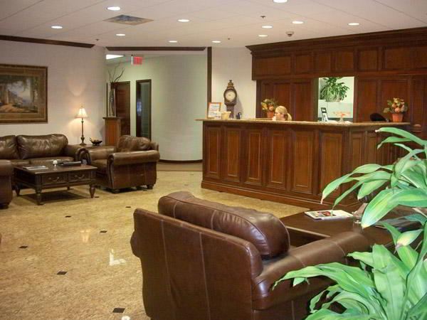 Receptionist Welcoming Area - Boca Raton Virtual Office