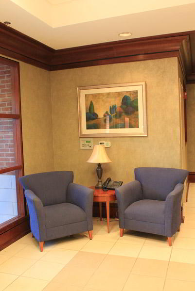 Peachtree Corners  Virtual Office Space - Comfortable Commons Area