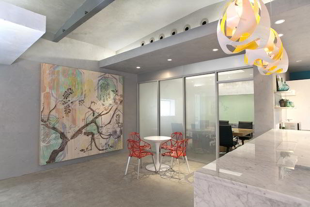 Receptionist Welcoming Area - Houston Virtual Office
