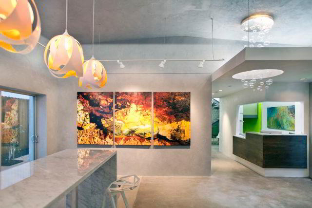 Stylish Entrance Lobby - Virtual Office in Houston