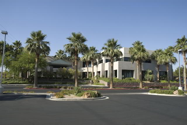 Las Vegas Virtual Office - Building Facade