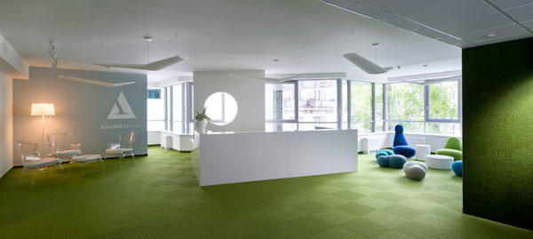 Budapest  Virtual Office Space - Comfortable Commons Area