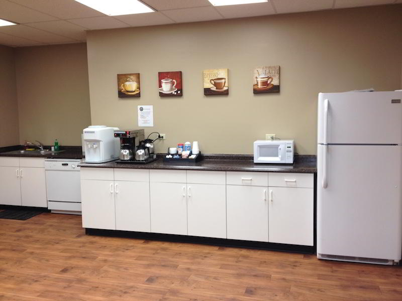 Break Room - Kitchen Area - Ontario Executive Suite