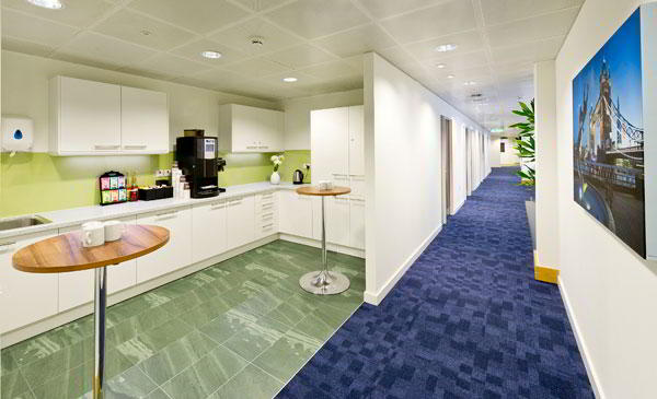 Break Room - Kitchen Area - London Mayfair Executive Suite