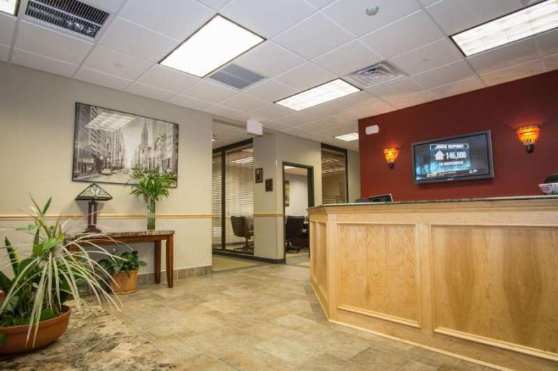 Receptionist Welcoming Area - Pine Brook Virtual Office