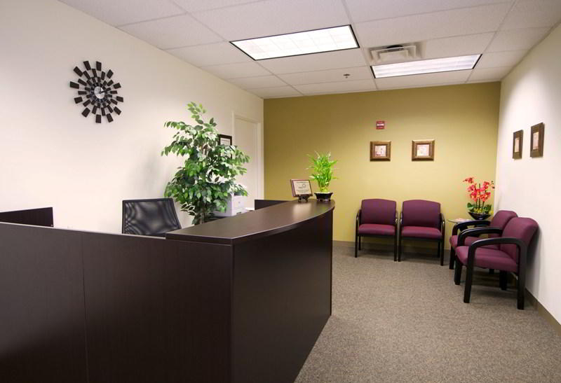 Stylish Entrance Lobby - Virtual Office in Laurel