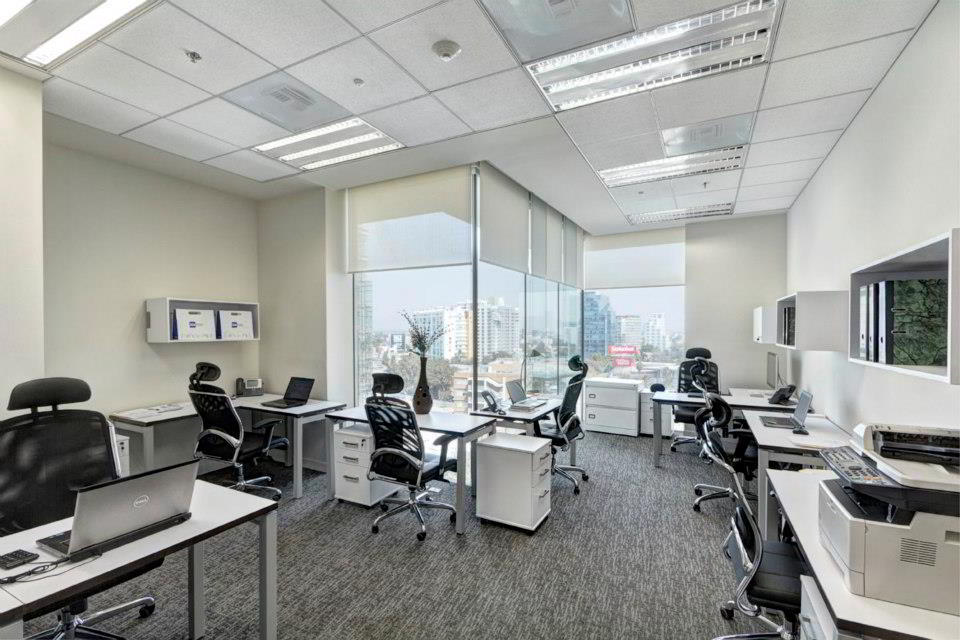 Mexico City Virtual Office Space - Comfortable Commons Area