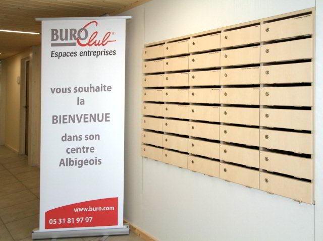 Stylish Entrance Lobby - Virtual Office in Terssac