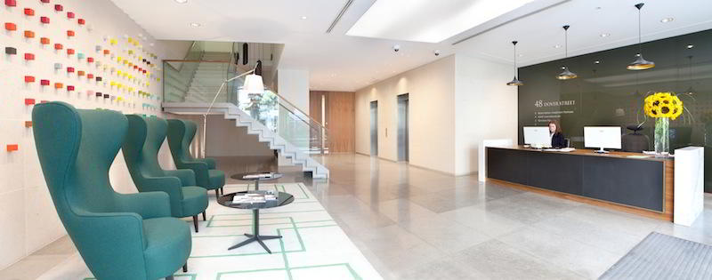 London Mayfair Live Receptionist and Business Address Lobby