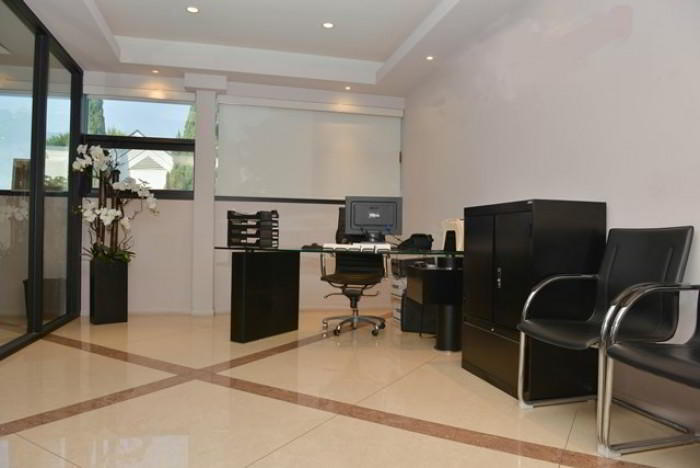 Break Area in this Beverly Hills Office Space