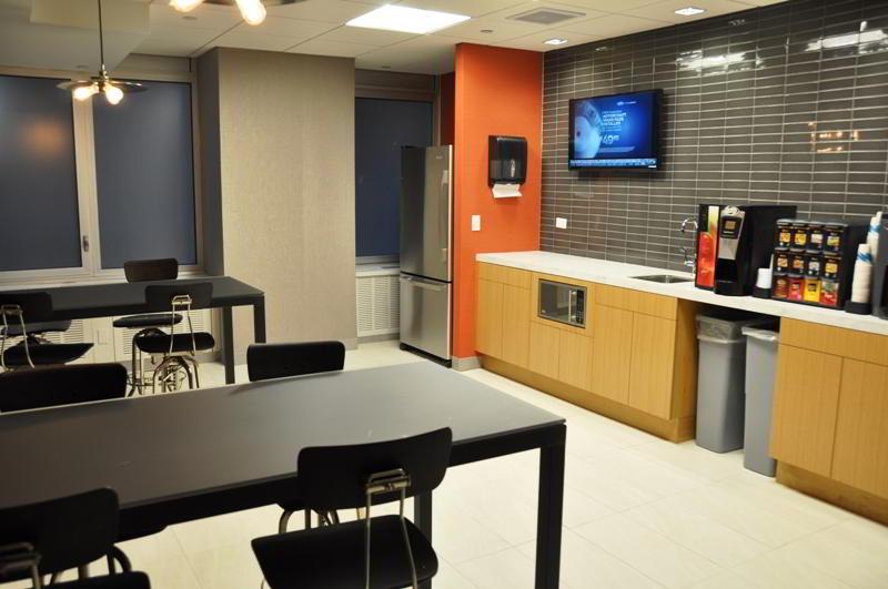 Break Area in New York Virtual Office Space