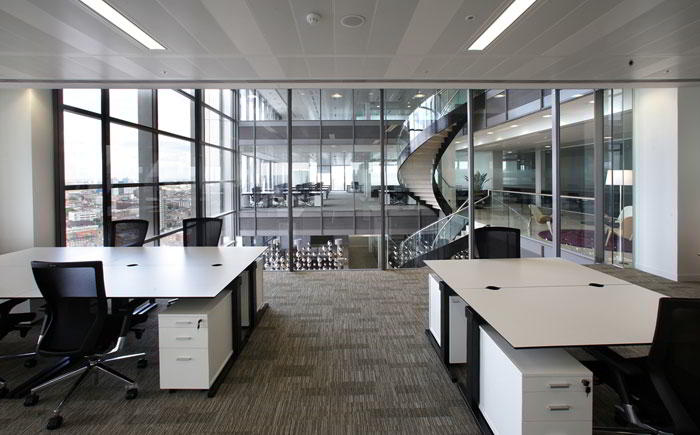 London City Virtual Office Address - Lounge Commons Area