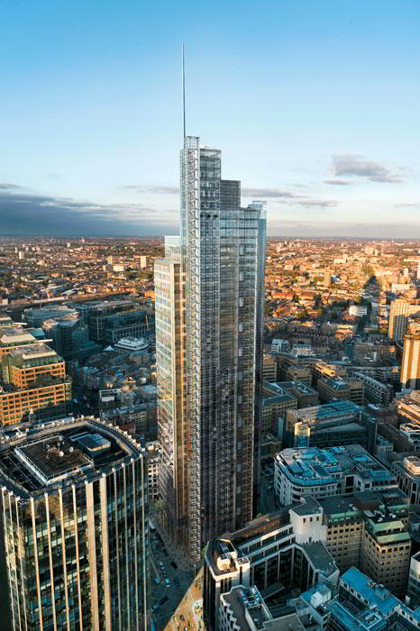 London City Business Address - Building Location