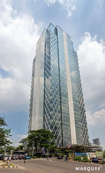 Exterior Facade - Jakarta Virtual Office Space