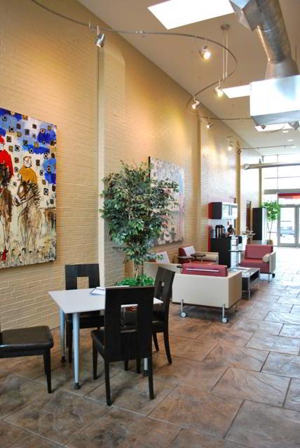 Break Room - Kitchen Area - Lexington Virtual Office
