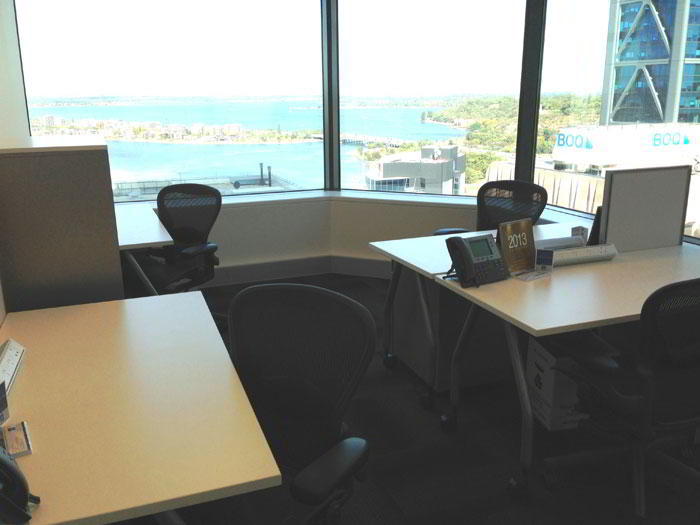 Temporary Perth Office - Meeting Room