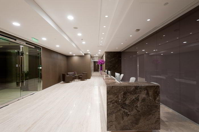 Receptionist Lobby - Virtual Offices in Beijing