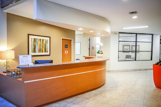 Receptionist Lobby - Virtual Offices in Irvine